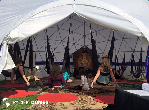 aeral yoga dome play