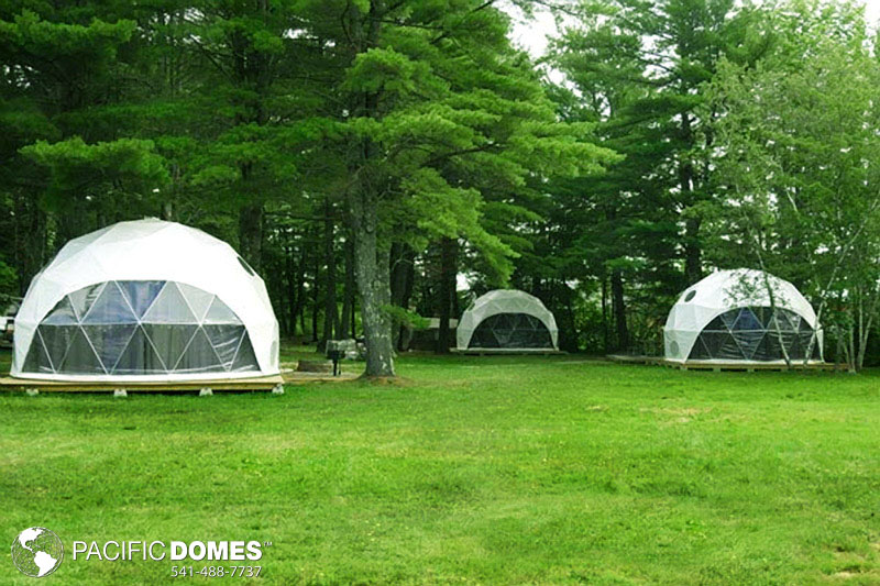 backyard makeovers, geodesic
