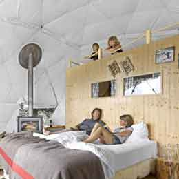 Whitepod Resort Dome