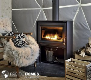 Woodstove-Pacific Domes