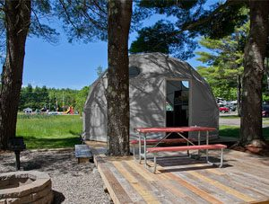20ft Grey Dwell Dome with Prehung Door