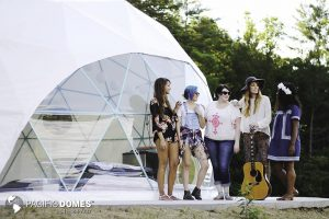 Ashville Glamping-Pacific Domes