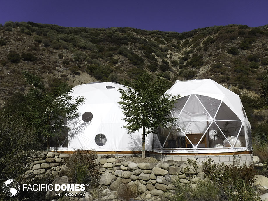 mexico, glamping, domes, geodesic domes