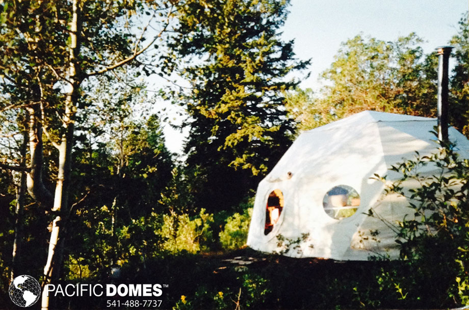 living in a dome home