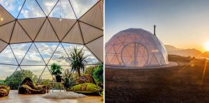 Geodesic Domes: A masterpiece of living