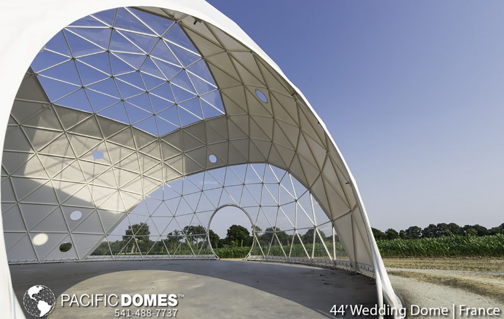 event dome, dome wedding