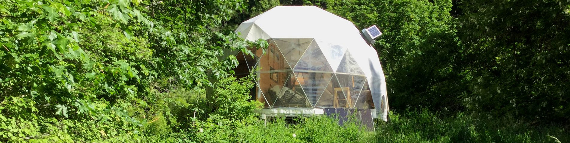 Off-Grid Living in a Dome Home