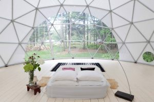 The dome at Outlier Inn