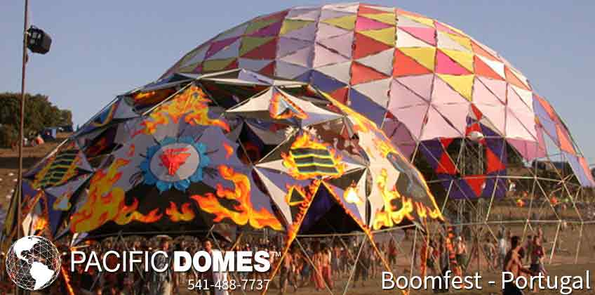 Boomfest Festival Event Domes