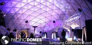 Samsung Corporate Event Dome
