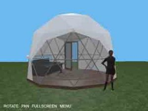 16ft Tall Dwell Dome Configurator