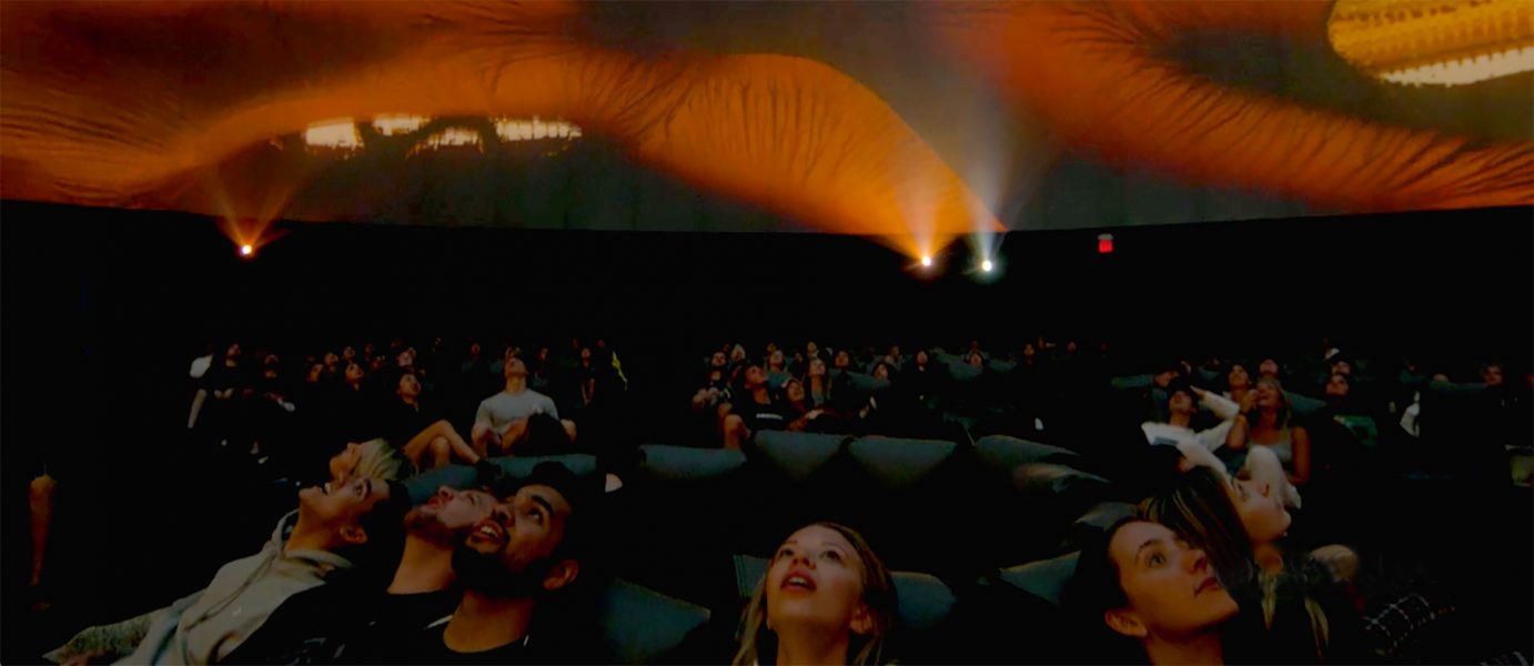 Coachella - Projection Theater by Pacific Domes
