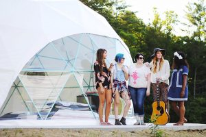 Ashville Glamping Dome
