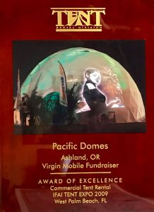 Pacific Domes Award of Excellence