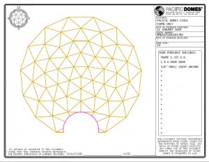 24ft Event Dome Frame