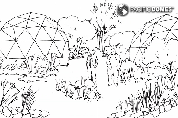 Geodesic framework for a sustainable future