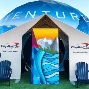 Capital One VENTURE Dome by Pacific Domes