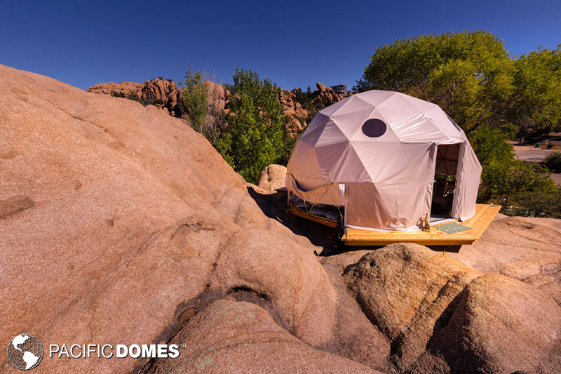 Dome in it's natural habitat!