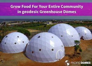 Geodesic Greenhouse Domes by Pacific Domes