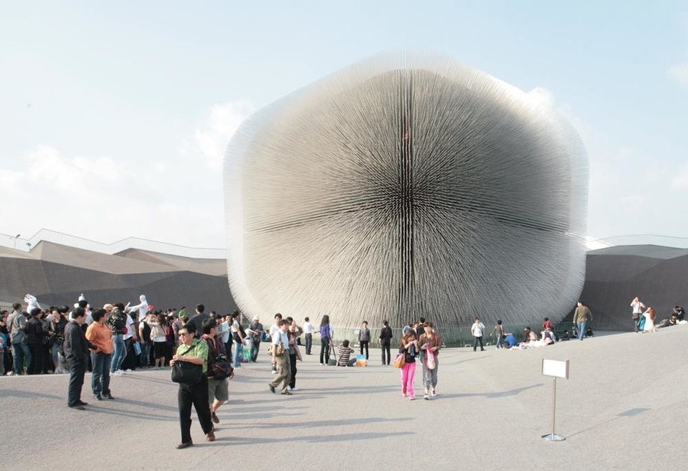 Seed Cathedral, 2010