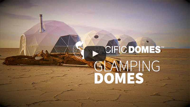 Eco Tourism Glamping Domes by Pacific Domes