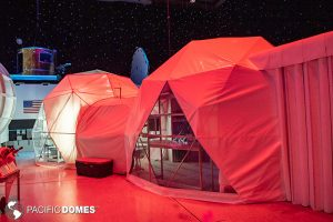 shelter dome, connected domes, space domes, mars dome