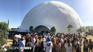 projection dome, 360 degree dome, full immersion