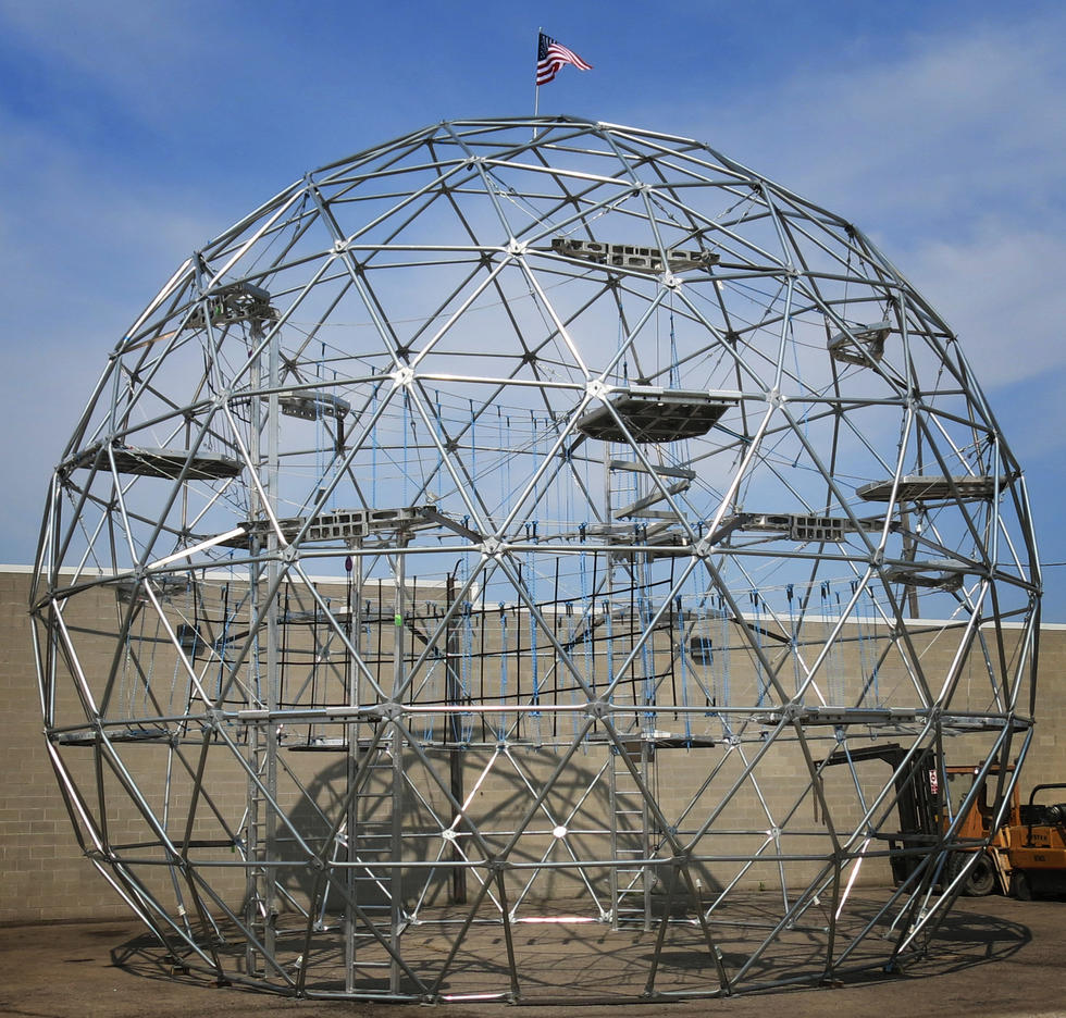 GeoDome Ropes Course Challenge
