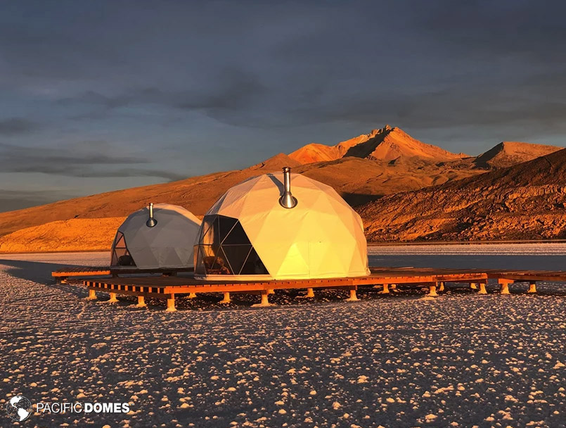 glamping dome, ecodome
