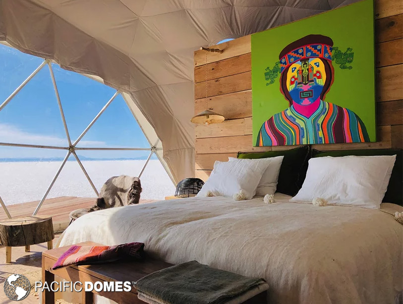 glamping dome, shelter dome, dwell dome