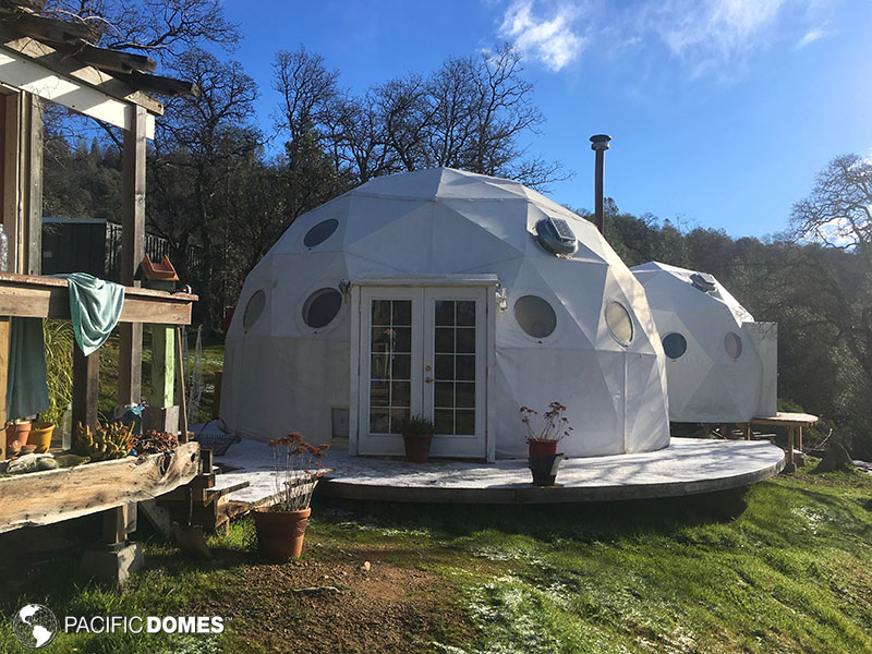 connected domes, dome home, dome life, dwell dome