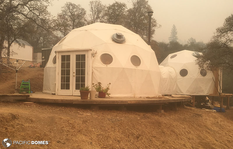 connected domes, dome home, shelter dome