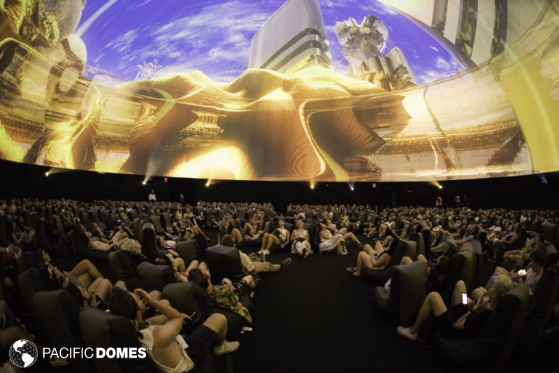 projection dome, 360 projection, projection mapping