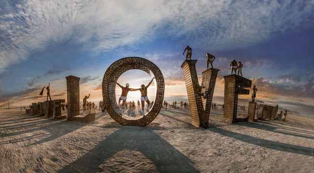 Love Sculpture Burning Man 2019