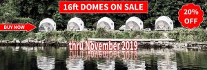 Pacific Domes -16ft Domes On Sale