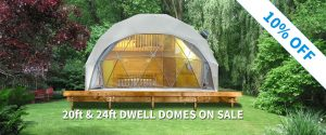 20ft & 24ft Dwell Domes On Sale