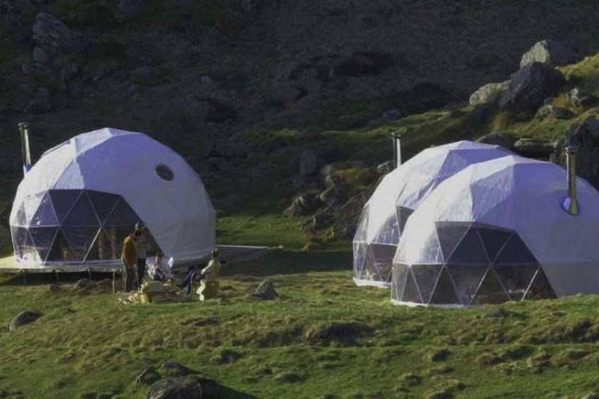 dome home, safe dome, dome haven, dwell dome