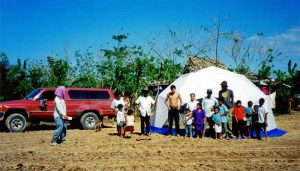 Relief Shelter Domes