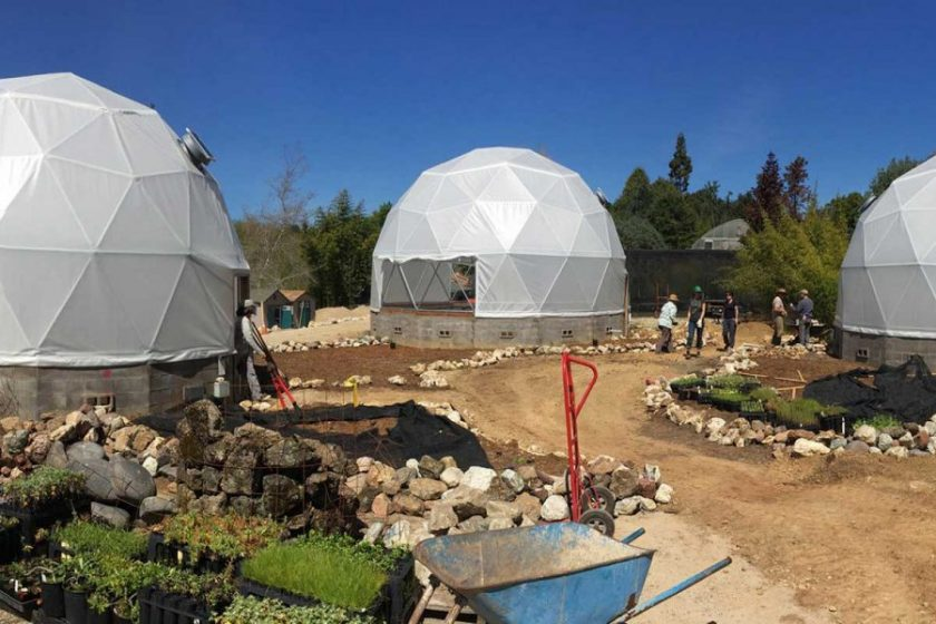grow dome, greenhouse dome