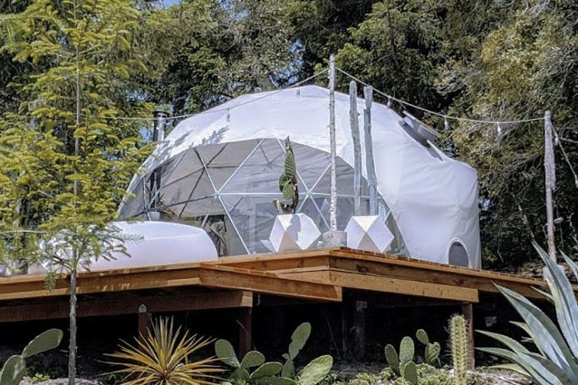 backyard dome, dome, dome studio