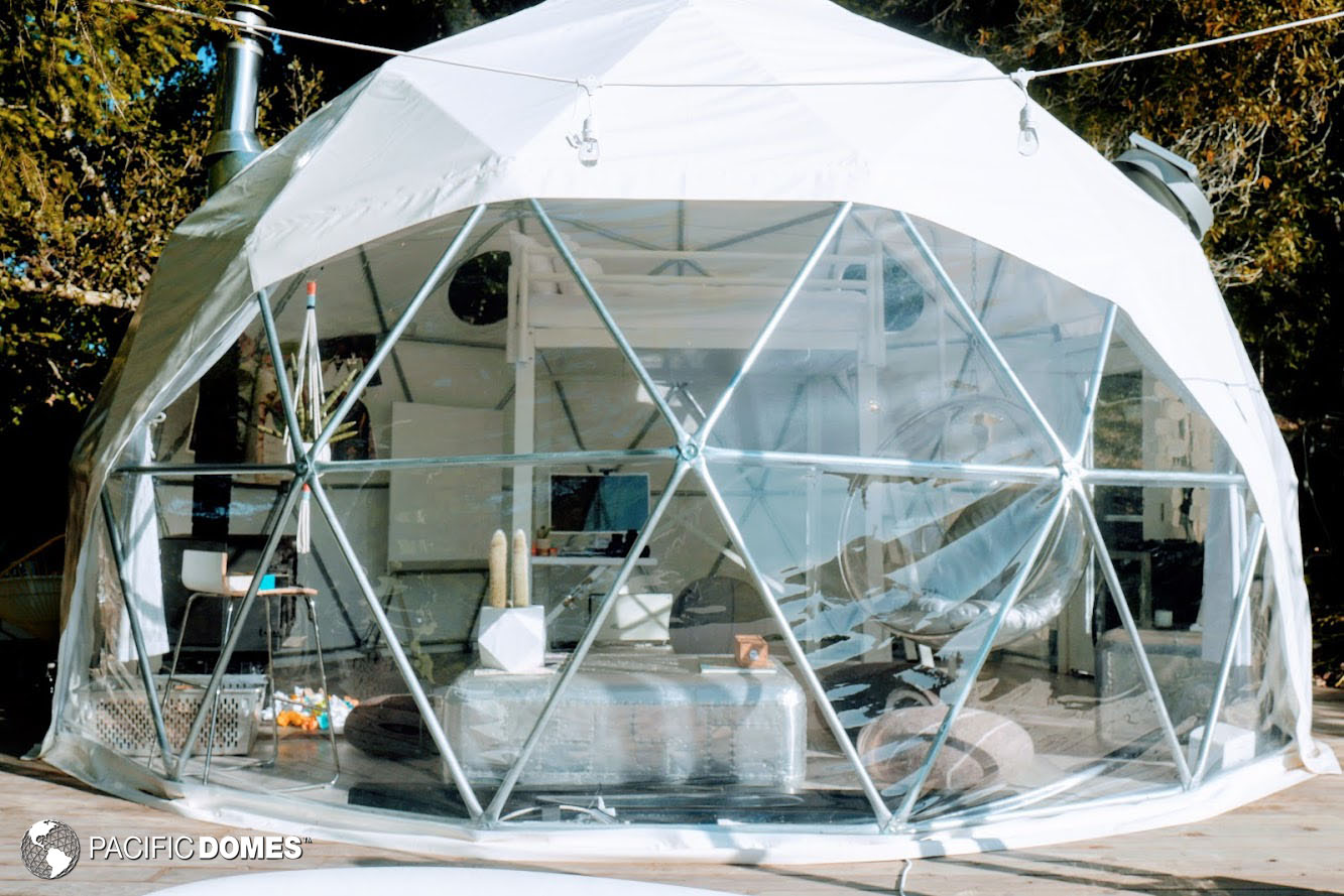 backyard dome, dome home, office dome, dome office, dome school