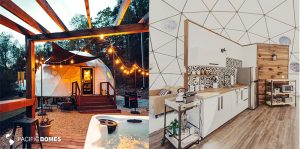 glamping dome, airbnb dome