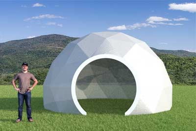 20ft Greenhouse Dome