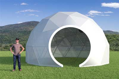 24ft Greenhouse Dome