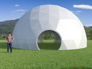 36ft Greenhouse Dome