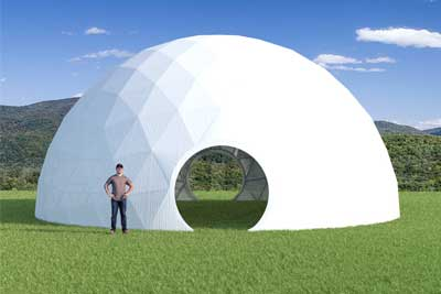 44ft Greenhouse Dome