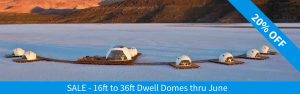 Geodeisc Dwell Domes on Sale