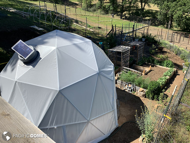geodesic greenhouse, greenhouse dome, grow dome