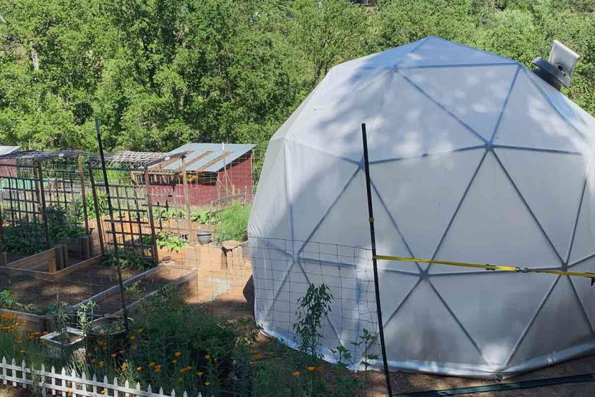 grow dome, greenhouse dome, geodesic greenhouse