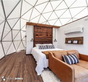 glamping, glamping dome, dome